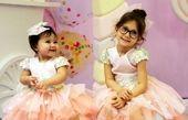 عکس دو دختر پرنسس شاهرخ استخری
