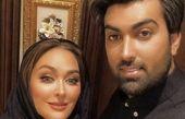 الهلم حمیدی و شوهرش پس از بچه دار شدن + عکس