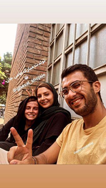 سولماز غنی در کنار دوستانش + عکس