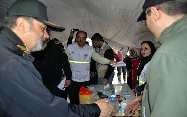 برخورد قاطع پلیس با اخلالگران نظم و امنیت در مناطق سیلزده