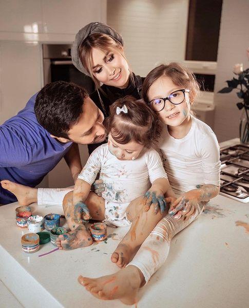 خانواده شاد شاهرخ استخری + عکس