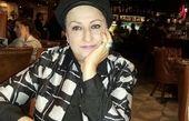 مریم امیرجلالی در یک رستوران خارجی + عکس