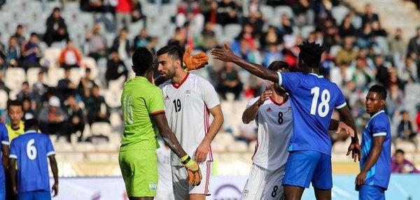 تافتههای جدا بافته در ترکیب تیم ملی فوتبال ایران