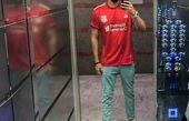 سلفی آسانسوری ورزشی مهرداد صدیقیان