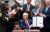 ترامپ فرمان آغاز اصلاحات در پلیس آمریکا را صادر کرد