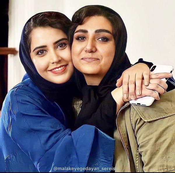 دوستی بازیگران ملکه گدایان + عکس
