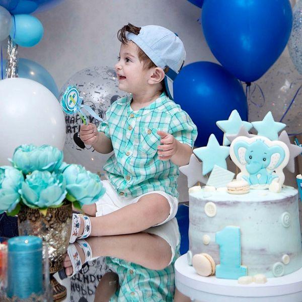عکس تولد شیک پسر آقای مجری