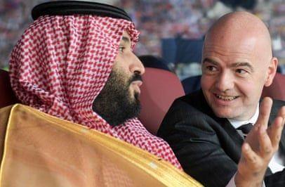 ولیعهد عربستان فساد را به فیفا هم کشاند