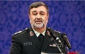 فرمانده ناجا: هیچ گونه ترددی در مرز ایران و عراق نداریم