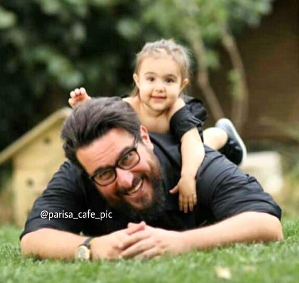 بازی های پدر دختری محسن کیایی + عکس
