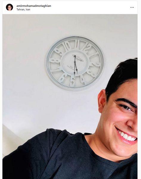 روشنگری زمان برای امیرمحمد+عکس