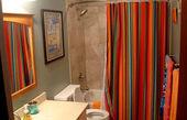 پرده کهنه حمام را دور نریزید!