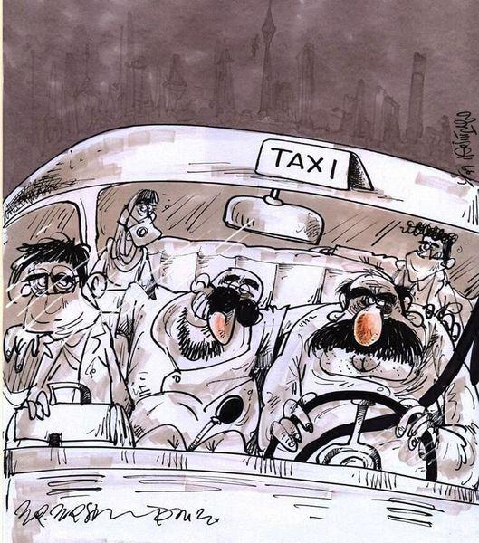 وضعیت تاکسیها پس از فاصلهگذاری اجتماعی!