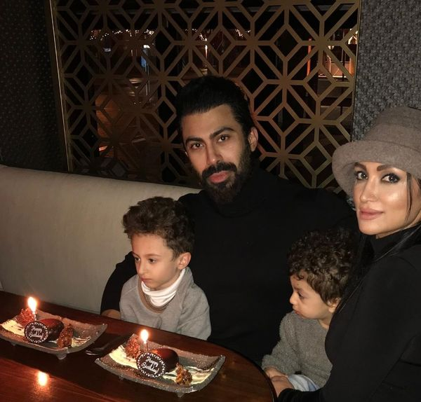 تولد خاص همسر روناک یونسی+عکس