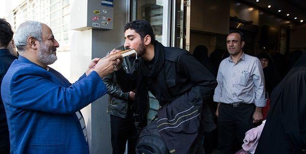 جمعی از اصحاب رسانه برای حضور در پیادهروی اربعین بدرقه شدند+ عکس