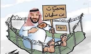 کاریکاتورمناطق حفاظت شده بن سلمان