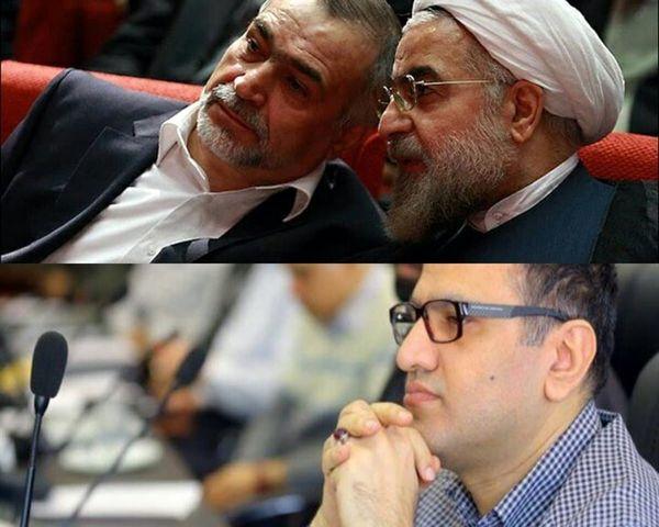 باجناق معروف فامیل دولت روحانی دستگیر شد