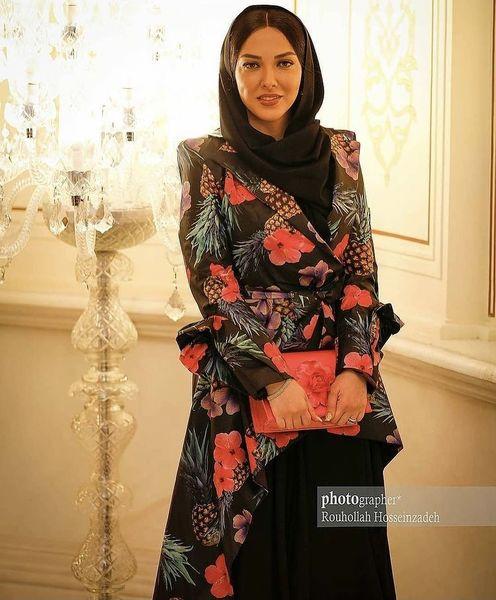 تیپ جنجالی لیلا اوتادی در یک مراسم + عکس