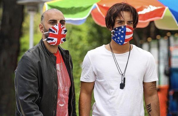 ماسک هایمتفاوت آقایون بازیگر در گشت ارشاد ۳ + عکس