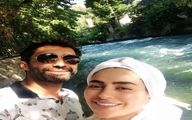 عکس پیک نیک تازه عروس داماد بازیگر