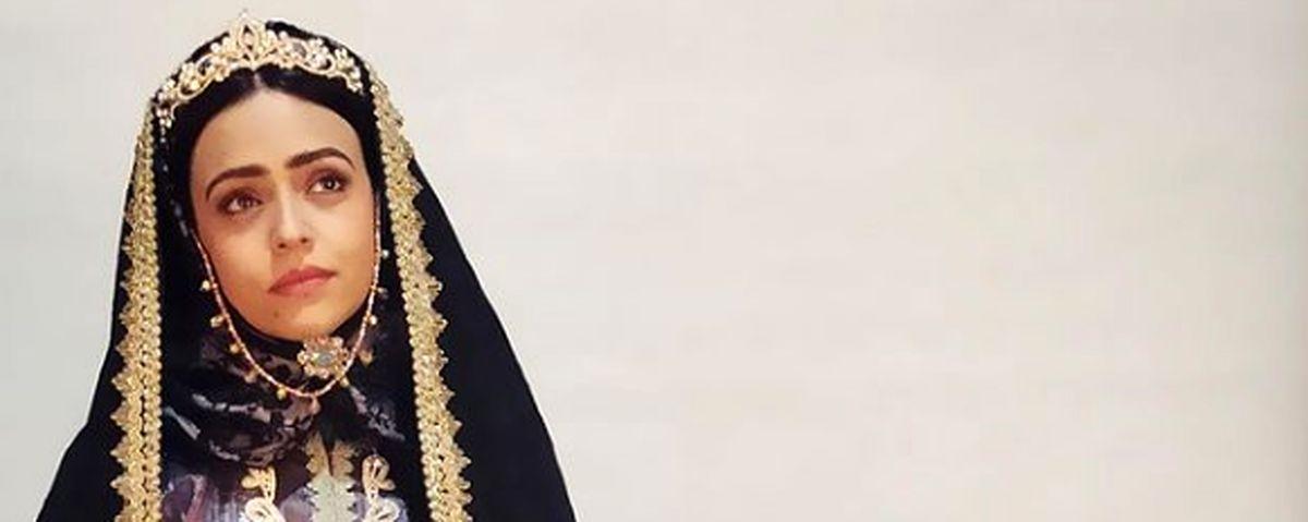 گریم قجری سوگل خلیق در سریال قبله عالم + عکس