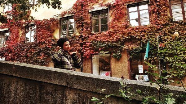گلاره عباسی در استکهلم+عکس