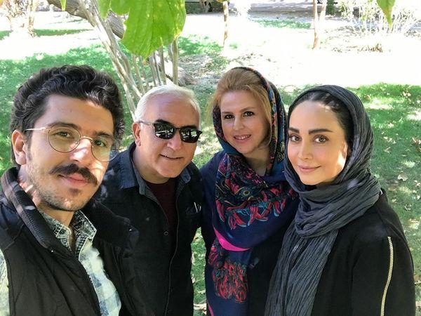 همراهان مهربان مریم خدارحمی در ارومیه+عکس
