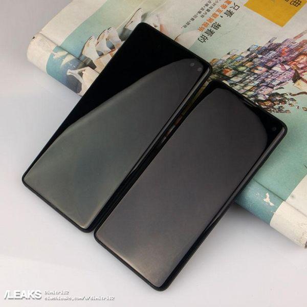 تصاویر گلکسی S10 و مدل پلاس با سه دوربین منتشر شد