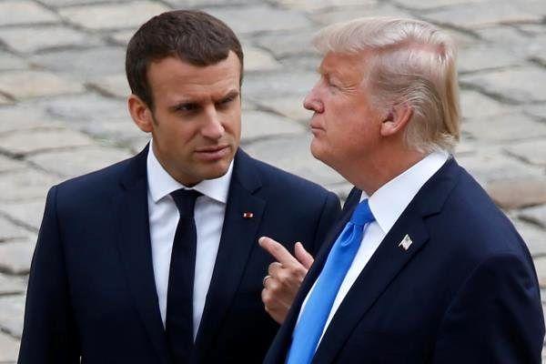 فرانسه خطاب به ترامپ: نجابت، مناسب بود
