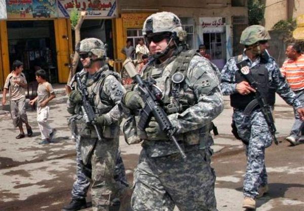 کاهش نظامیان آمریکایی در عراق/ تنها 4 پایگاه آمریکایی باقی است