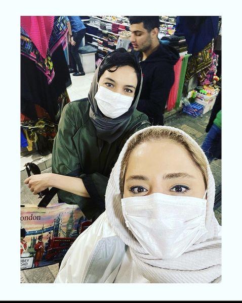 ستایش خانم در بازار تهران + عکس