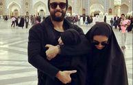 بنیامین بهادری و همسر با حجابش در سفر+عکس