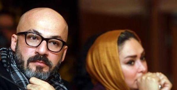عکس الهام حمیدی و بازیگر خوش استایل