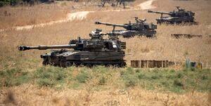 استقرار تجهیزات نظامی اسرائیل در مرز لبنان