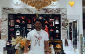 حضور گلزار در یکی از شعب بیژن در دبی + عکس