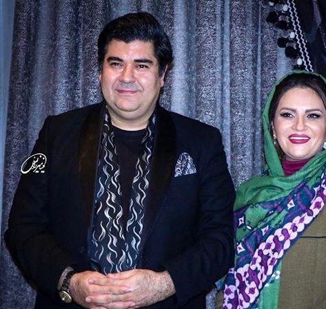 سالار عقیلی و همسر هنرمندش+عکس