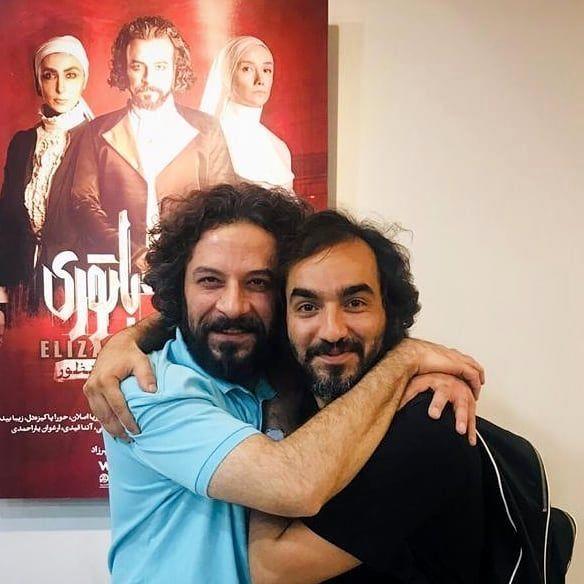 عاشقانه های حسام منظور با بازیگر معروف + عکس