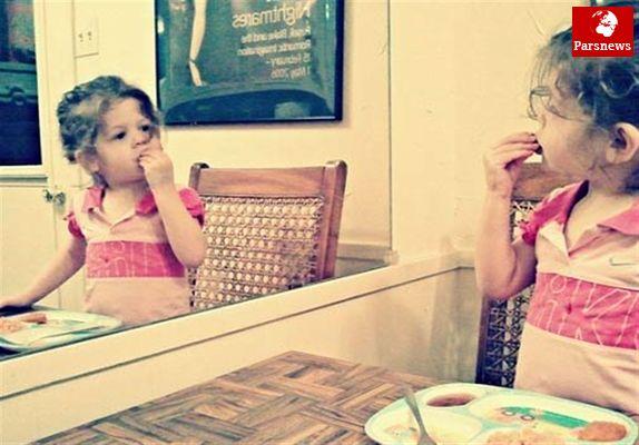 در مقابل آینه بنشینید و با اشتها غذا بخورید