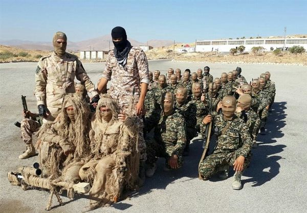 آموزش و آمادگی نظامی رزمندگان فاطمیون در سوریه+عکس