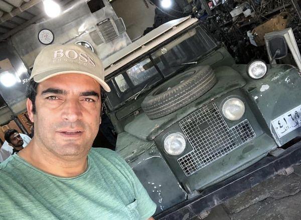 ماشین قدیمی منوچهر هادی + عکس