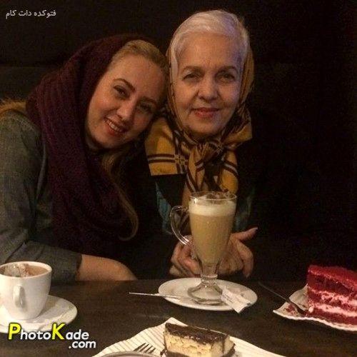 کافه گردی تبسم هاشمی و مادر زیبایش+عکس