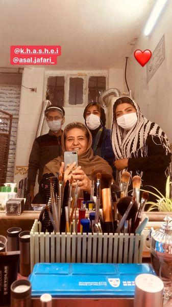 گریم کار جدید رابعه اسکویی + عکس