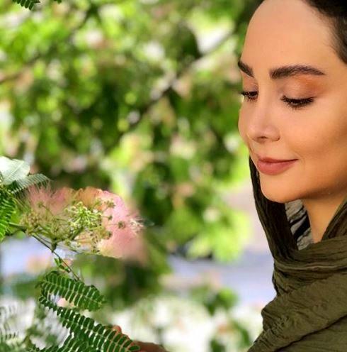 عکس با آرامش مریم خدارحمی