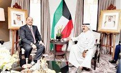 وزرای دفاع قطر و کویت با هم دیدار و گفتگو کردند
