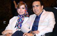 عکس مزدک میرزایی و همسرش