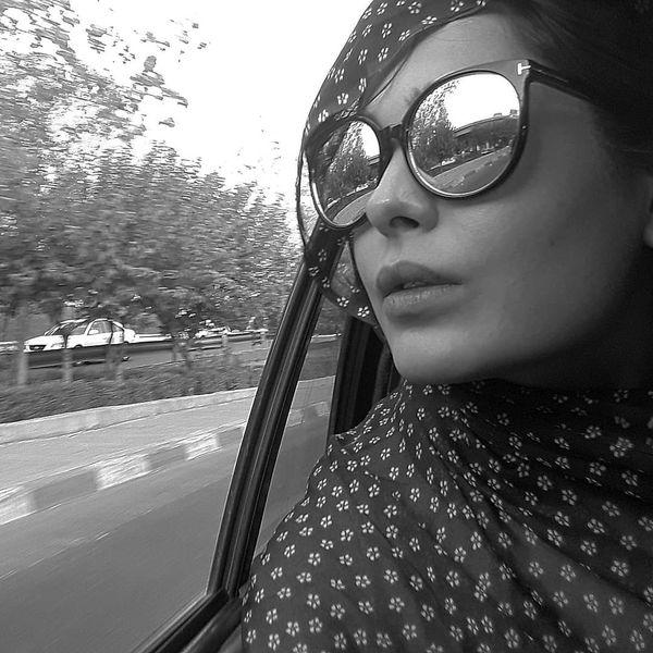 سانیا سالاری با تیپ گلگلی اش+عکس