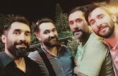 گردش دوستانه آقای بازیگر تازه داماد+عکس