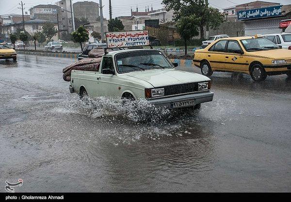 پیش بینی باران در ۱۶ استان