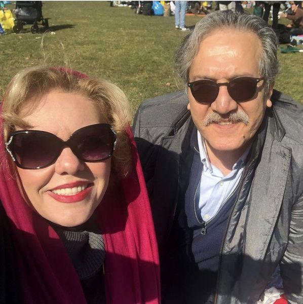 سلفی بهاری زوج سینمایی ایران + عکس