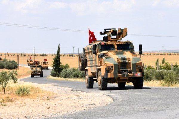 آغاز عملیات گشتزنی ترکیه- آمریکا در منبج